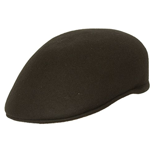 9th Street Seville British Dome Ascot Cap 100% Wool - Male Round Hats Face For