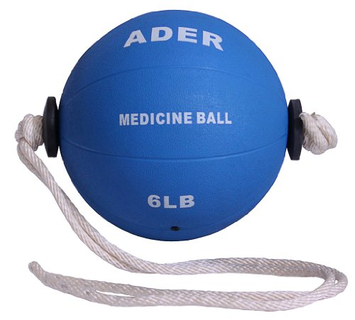 6 Lb Power Rope Medicine Ball