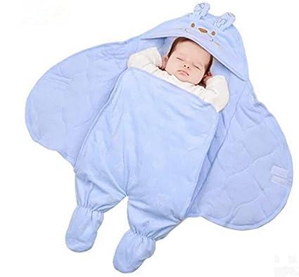 Newborn Baby Saco de dibujos animados ropa de bebé techo Infant Swaddle Blanket swadd Ling Wrap
