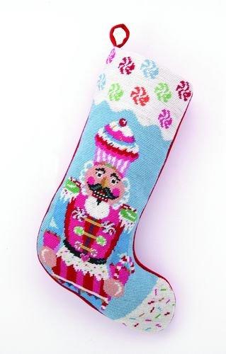 Glitterville 31GV41MC Christmas Cupcake, Nutcracker Needl...