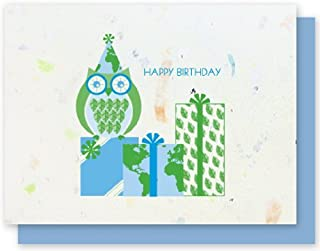 product image for 100% Junk Mail Owl Birthday 4-Pack