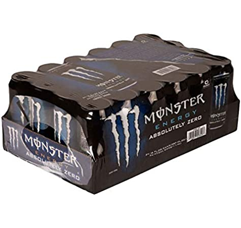 Monster Absolutely Zero 50cl (pack de 24): Amazon.es: Alimentación ...