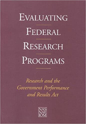 Gratis bøker for iPhone-nedlasting Evaluating Federal Research Programs: Research and the Government Performance and Results Act 0309073707 in Norwegian PDF