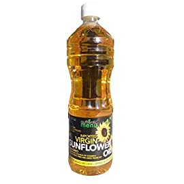 A&M Virgin Sunflower Oil (Unrefined, Cold-pressed), 33.8 oz 12