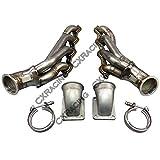 lsx turbo kit - LS1 LSx Twin Turbo Manifold Header T4 Elbow For 63-67 Chevelle Camaro Impala