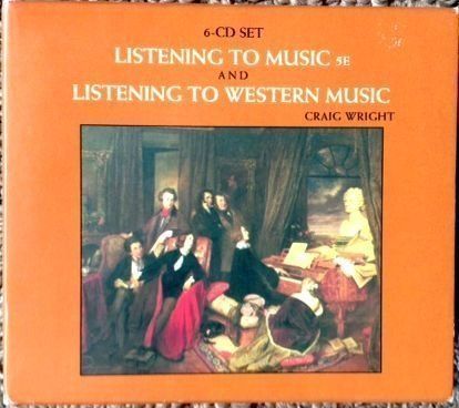 6-CD Set for Wright's Listening to Music, 5th and Listening to Western Music