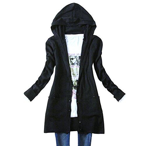 Long Hooded Cardigan: Amazon.com
