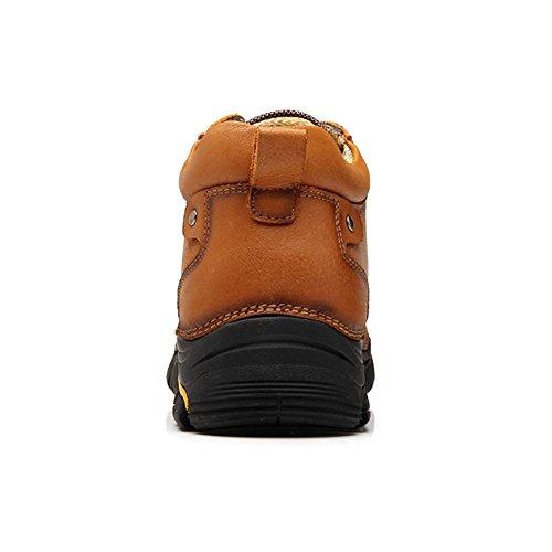 39 Brown Brown Deporte Caucho Libre Negro Hecho 45 Tamaño Zapatos Marrón Invierno Aire Casual 45 Oxford A Otoño Mano De 45 Hombre Cuero Al Swnx Británico RxpqBSx