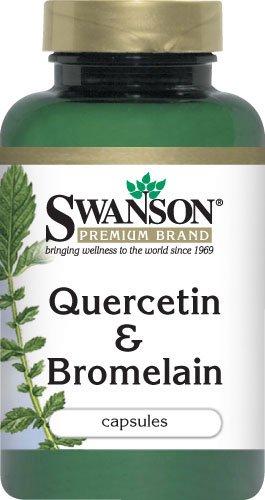 Swanson Quercetin & Bromelain 250/78 Milligrams 100 Capsules