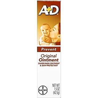 A & D Diaper Rash Ointment & Skin Protectant, Original -1.5 Ounces - 2 Pack