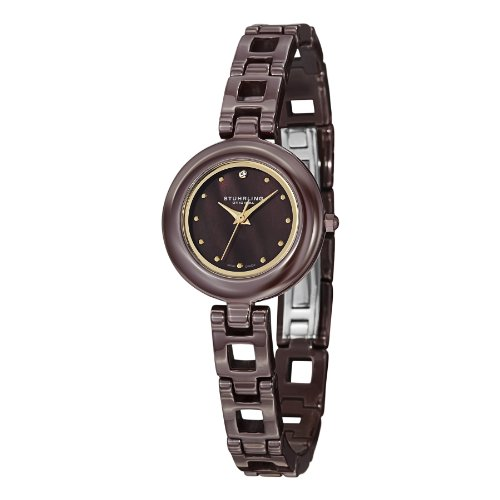 Stuhrling Original Women's 921.02 Leisure Petit Ceramic Watch