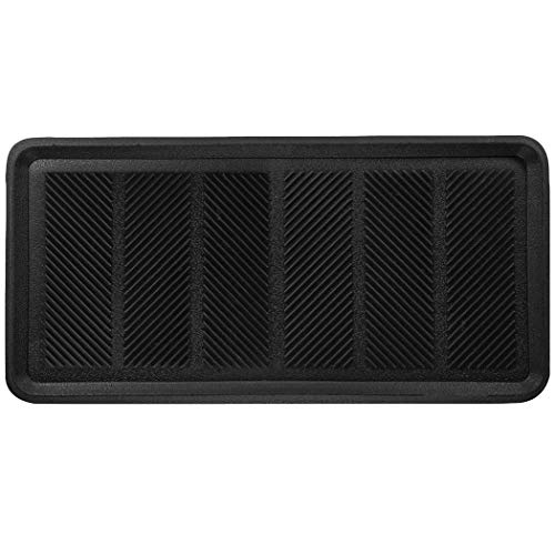 - SafetyCare Rubber Shoe & Boot Tray - Multi-Purpose - 32 x 16 Inches - 1 Mat