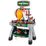 Toyrific Kids Construction Work Bench Role Play Set with Tools