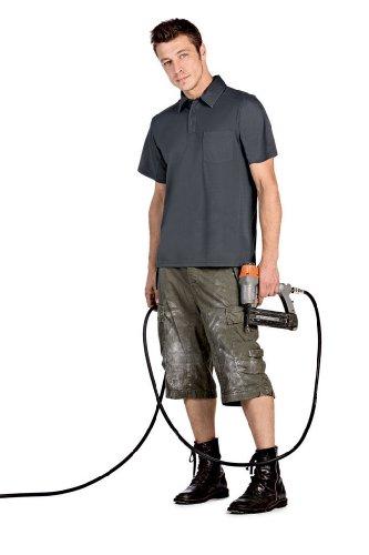 atmungsaktives Poloshirt 'Coolpower Pro' mit Brusttasche, Farbe:Navy;Größe:3XL