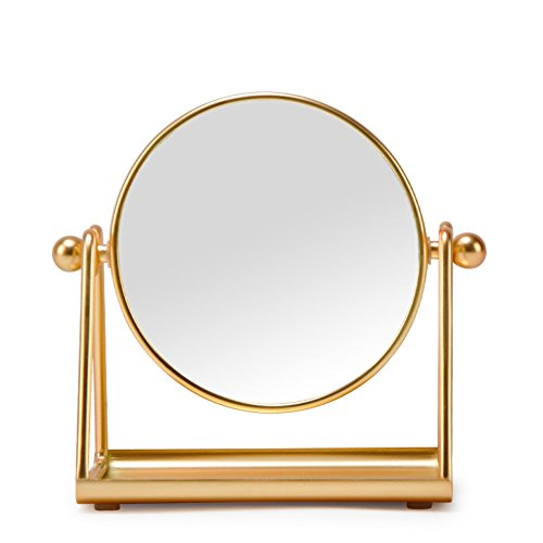 Loveforever 4 Inch Vanity Mirror Tabletop 360 176 Swivel