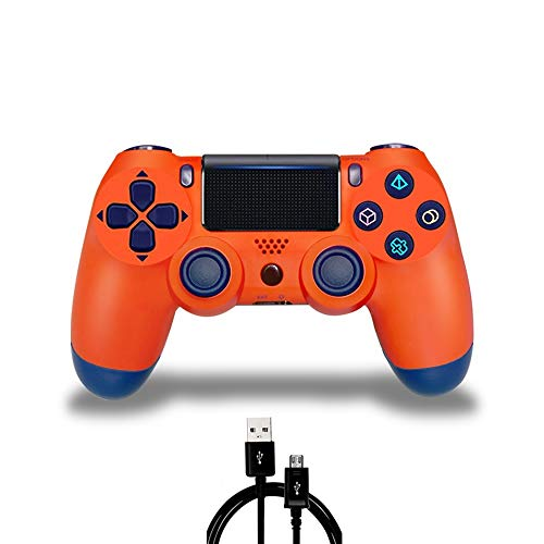 PS4 Controller MOVONE Wirelles Controller with USB Cable for Sony Playstation 4 (White) 41xWUODUNWL  Home Page 41xWUODUNWL