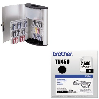 KITBRTTN450DBL196823 - Value Kit - Durable Key Box Plus (DBL196823) and Brother TN450 TN-450 High-Yield Toner (BRTTN450)