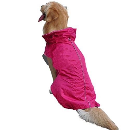 [Dog Jacket, Fashion Waterproof Large Dog Jacket Outwear Warm Coat Pets Dogs Winter Clothes Apparel Waistcoat Sweater Coats Top Jackets Costumes Sweatshirt with Stand-Up Collar] (Dorothy Dog Costume Xl)