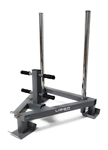 Uber Weight Sleds for Conditioning, Cross Training, Soccer, and Football - Power Sled and Adjustable Pull Sled with Harness Included