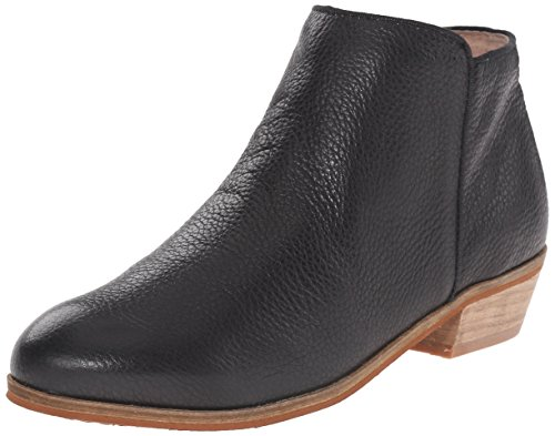 (Softwalk Women's Rocklin Chelsea Boot,Black Veg Tumbled Leather,8 N US)
