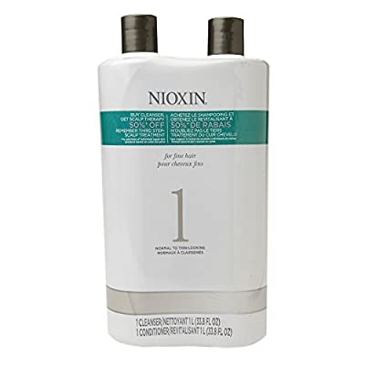 Nioxin System 1 Cleanser And Scalp Therapy Duo
