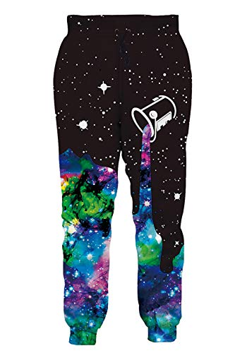 RAISEVERN Men/Women Sweatpants Funny Joggers Pants Sports Trousers with Drawstring