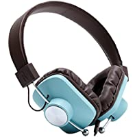 Eskuche 101512C2BLU Control v2 On-Ear Headphones, Blue