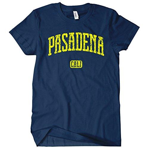 (Smash Transit Women's Pasadena California T-Shirt - Navy, XX-Large)