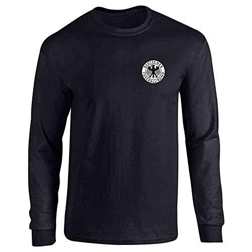Germany Soccer Futbol Retro Vintage National Team Black M Long Sleeve T-Shirt