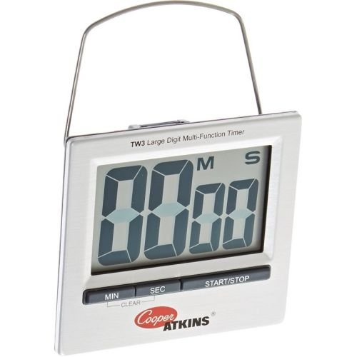 Cooper Atkins Large Digit Multi Function Digital Timer with Multi Mount, 3.25 x 1.0 x 3 inch -- 36 per case.