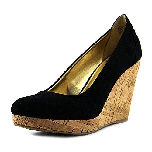 Wedge Womens Round Black Toe Sodi Miaa Pumps Thalia B5qFXw