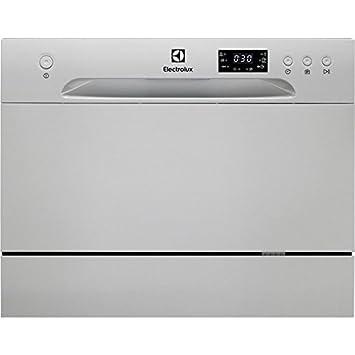 Electrolux ESF2400OS lavavajilla Encimera 6 cubiertos A+ - Lavavajillas (Encimera, Acero inoxidable, Compacto, Acero inoxidable, Botones, ...