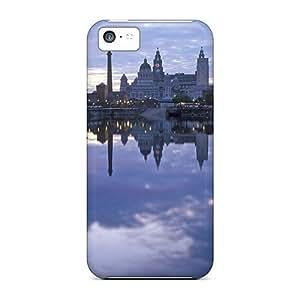 Iphone 5c Liverpool Print High Quality Tpu Gel Frame Case Cover