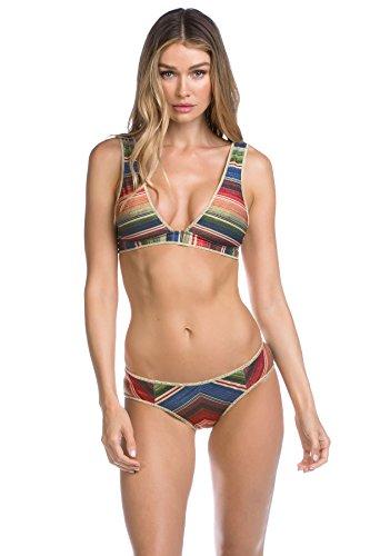 Becca by Rebecca Virtue Women's West Village Classic Bikini Top Multi (West Village)