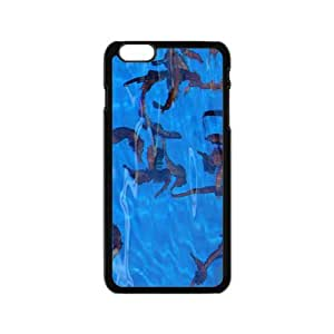 MMZ DIY PHONE CASESea Horse Hight Quality Plastic Case for Iphone 6