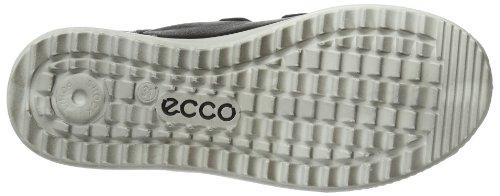 ECCO Christer Black/white/wild Dove Ca/ca/fir - Zapatillas Unisex adulto Negro (Schwarz (BLACK/WHITE/WILD DOVE 58359))