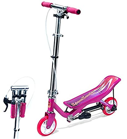 Junior Space Scooter X360 Niños wippen Patinete rosa rosa ...