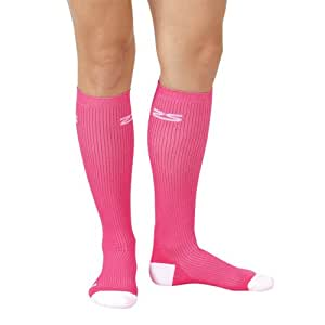 Fresh Legs Compression Socks - Graduated Compression Stockings -  Great for Everyday Wear, Hot Pink, Medium