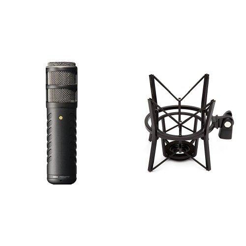 Broadcast Quality Dynamic Microphone (Rode Procaster Quality Dynamic Mikrofon + Røde elastische Mikrofonhalterung PSM1 Bundle)