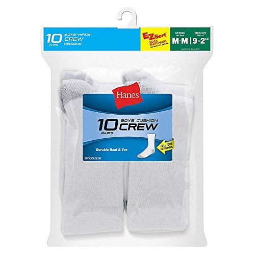 By Hanes Boy's Socks 10-Pack