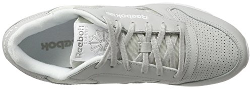 noir Gris silver Metallic Grey Femme Skull white Classic Reebok Leather Fbt Baskets qUXwaWgxY