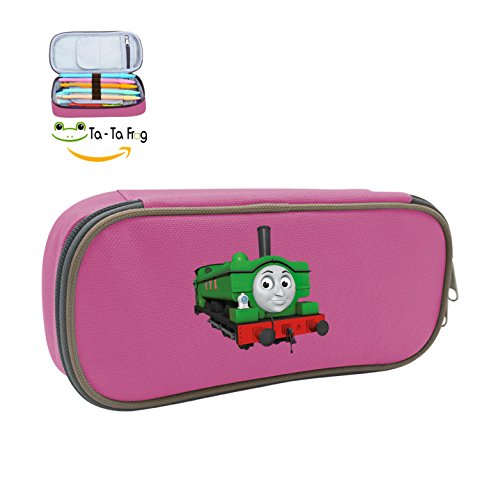 Large Capacity Canvas Cosmetic Box Holder With Thomas/Train/Little Logo For School Pink (Angry Birds Happy Halloween 3-9)