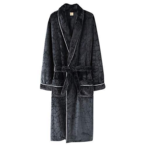 Domicilio Masculinos Gruesas Tamaño B Albornoces Invierno A De Servicio Gran Calientes Vestido Pijamas Noche Mmllse PpBAnqx