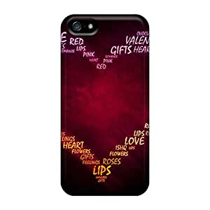 Snap-on Case Designed For Iphone 5/5s- Valentine Day 2014