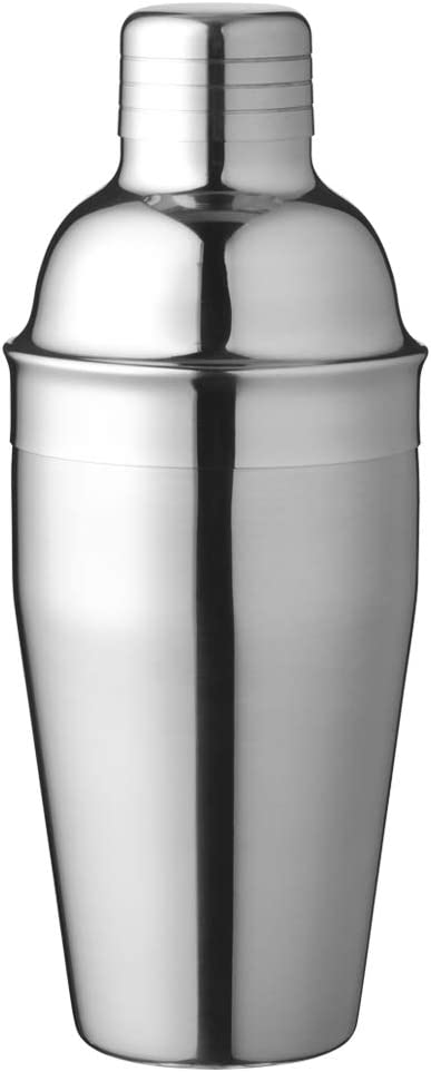 Delidge Cocktail Shaker Food Grade Stainless Steel 25oz Martini Shaker and Strainer Large Drink Shaker Professional Bar Tool Drink Mixer