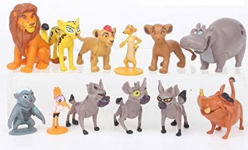 9 The Lion King Simba Mufasa Hyenas Pumbaa Kids Action Figures Cake Topper Toys