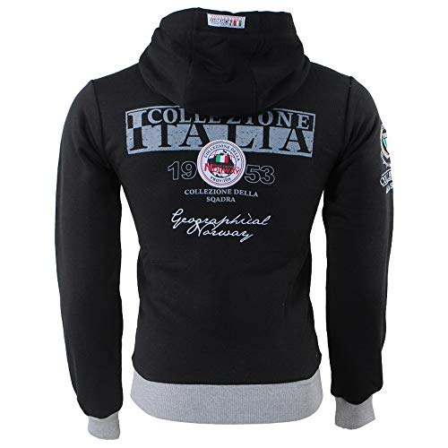 Homme Norway shirt Sweat Geographical À Noir Capuche WA0TqOARH