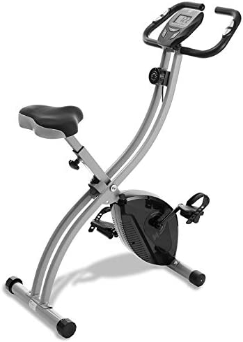 Node Fitness Stationary Folding Indoor Cycling Exercise Bike