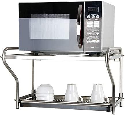 Estante De Cocina Estante Para Microondas Almacenamiento Completo ...