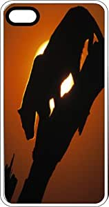 Leopard Silhouette In The Bright African Sun Clear Plastic Case for Apple iPhone 4 or iPhone 4s